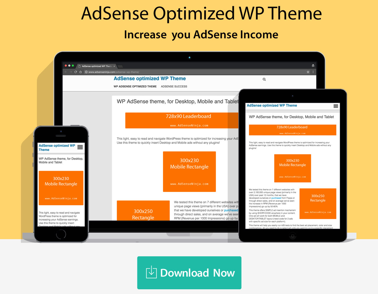 AdSense optimized WP Theme - AdSense Success WP Theme optimi
