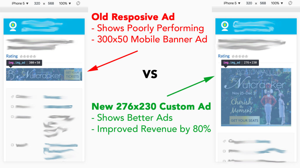 Optimizing Mobile Ads for better Click Through Rates, Cost Per Click and RPM